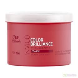 Wella Invigo Color Brilliance - Маска-уход для защиты цвета окрашенных жестких волос, 500 мл