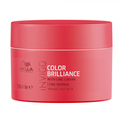 Wella Invigo Color Brilliance - Маска-уход для защиты цвета окрашенных нормальных и тонких волос, 150 мл