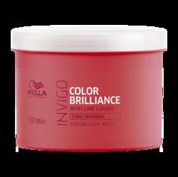 Wella Invigo Color Brilliance - Маска-уход для защиты цвета окрашенных нормальных и тонких волос, 500 мл