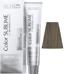 Revlon Professional Revlonissimo COLOR SUBLIME Natural 1  - Перманентная краска без аммиака, черный, 75 мл