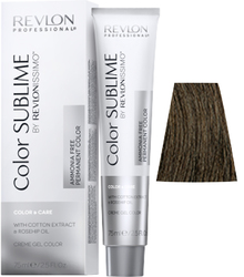 Revlon Professional Revlonissimo COLOR SUBLIME Natural 5 - Перманентная краска без аммиака, светло-коричневый, 75 мл