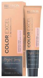 Revlon Professional Color Excel Playful Tones - Краситель для волос без аммиака пастельные оттенки 400 PEACH Насыщенный персиковый, 70 мл