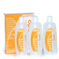 Matrix Opti.Wave Waving Lotion For Natural To Coarse Hair- Лосьон для завивки натуральных трудноподдающихся волос 3x250 мл