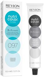 Revlon Professional Nutri Color Filters - Прямой краситель без аммиака 097 Бирюзовый, 100 мл