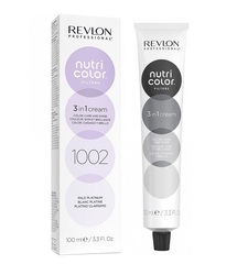 Revlon Professional Nutri Color Filters - Прямой краситель без аммиака 1002 Светлая платина, 100 мл