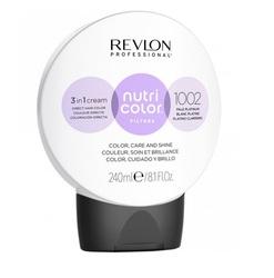 Revlon Professional Nutri Color Filters - Прямой краситель без аммиака 1002 Светлая платина, 240 мл