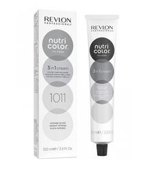 Revlon Professional Nutri Color Filters - Прямой краситель без аммиака 1011 Интенсивное серебро, 100 мл