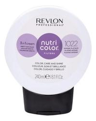 Revlon Professional Nutri Color Filters - Прямой краситель без аммиака 1022 Интенсивная платина, 240 мл