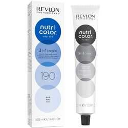Revlon Professional Nutri Color Filters - Прямой краситель без аммиака 190 Синий, 100 мл