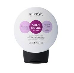 Revlon Professional Nutri Color Filters - Прямой краситель без аммиака 200 Фиолетовый, 240 мл