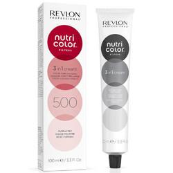 Revlon Professional Nutri Color Filters - Прямой краситель без аммиака  500 Фиолетово-Красный, 100 мл