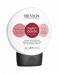 Revlon Professional Nutri Color Filters - Прямой краситель без аммиака  500 Фиолетово-Красный, 240 мл
