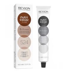 Revlon Professional Nutri Color Filters - Прямой краситель без аммиака 524 Коричневый Медно-Перламутровый, 100 мл