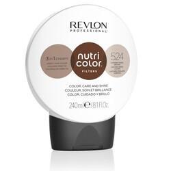 Revlon Professional Nutri Color Filters - Прямой краситель без аммиака 524 Коричневый Медно-Перламутровый, 240 мл