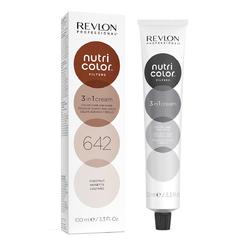 Revlon Professional Nutri Color Filters - Прямой краситель без аммиака 642 Каштановый, 100 мл