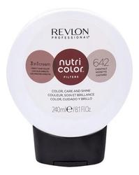 Revlon Professional Nutri Color Filters - Прямой краситель без аммиака 642 Каштановый, 240 мл