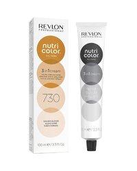 Revlon Professional Nutri Color Filters - Прямой краситель без аммиака 730 Золотистый блондин, 100 мл