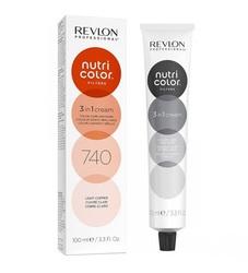Revlon Professional Nutri Color Filters - Прямой краситель без аммиака 740 Медный, 100 мл