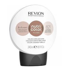 Revlon Professional Nutri Color Filters - Прямой краситель без аммиака 821 Серебристо-бежевый, 240 мл