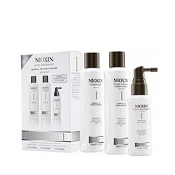 Nioxin System 1 Kit - Набор (Система 1), 150 мл+150 мл+50 мл
