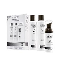 Nioxin System 2 Kit - Набор (Система 2), 150 мл+150 мл+40 мл