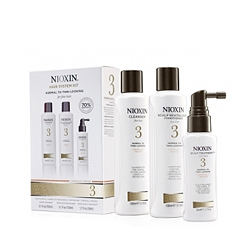 Nioxin System 3 Kit - Набор (Система 3), 150 мл+150 мл+50 мл