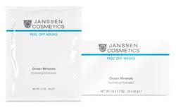 Janssen P-8333P Ocean Minerals Firming - Альгинатная anti-age энергонасыщающая ультраувлажняющая маска с морскими минералами, 10 x 30 г
