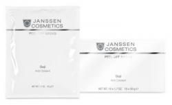 Janssen P-8399P Goji Anti Oxidant - Альгинатная anti-age восстанавливающая антиоксидантная ультраувлажняющая маска с облепихой и ягодами гойи, 10 x 50 г