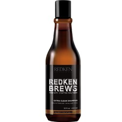 Redken Brews Extra Clean Shampoo - Шампунь для интенсивного очищения, 300 мл