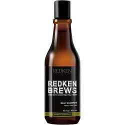 Redken Brews Daily Shampoo - Шампунь для ежедневного ухода за волосами и кожей головы, 300 мл