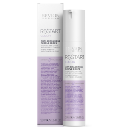 Revlon Professional ReStart Color Anti-Brassiness Purple Drops - Фиолетовые капли для усиления и поддержки холодных оттенков, 50 мл