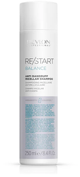 Revlon Professional ReStart Balance Anti Dandruff Micellar shampoo - Мицеллярный шампунь для кожи головы против перхоти и шелушений, 250 мл