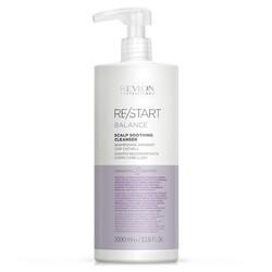 Revlon Professional ReStart Balance Scalp Soothing Cleanser - Мягкий шампунь для чувствительной кожи головы, 1000 мл
