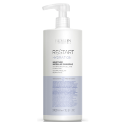 Revlon Professional ReStart Hydration Moisture Micellar shampoo - Мицеллярный шампунь для нормальных и сухих волос, 1000 мл
