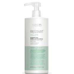 Revlon Professional ReStart Volume Magnifying Micellar shampoo - Мицеллярный шампунь для тонких волос, 1000 мл