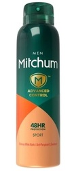 Mitchum Advanced Control Sport 48Hr - Дезодорант-антиперспирант, 200 мл