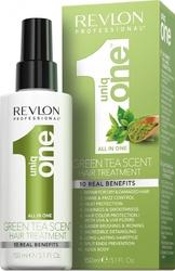 Uniq One Green Tea Treatment - Спрей-маска универсальная несмываемая с ароматом зеленого чая, 150 мл