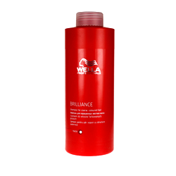 Wella Brilliance Line - Бальзам для окрашенных жестких волос, 1000 мл