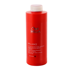 Wella Brilliance Line - Бальзам для окрашенных нормальных и тонких волос, 1000 мл