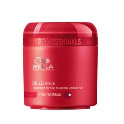 Wella Brilliance Line - Крем-маска для окрашенных нормальных и тонких волос, 150 мл