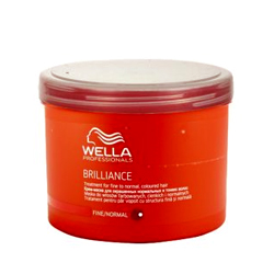 Wella Brilliance Line - Маска для окрашенных нормальных и тонких волос, 500 мл