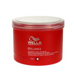 Wella Brilliance Line - Маска для окрашенных жестких волос, 500 мл