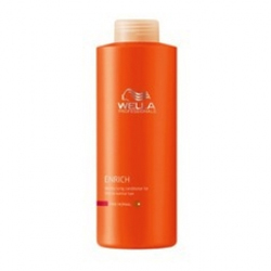 Wella Enrich Line - Питательный бальзам для объема нормальных и тонких волос, 1000 мл