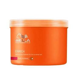 Wella Enrich Line - Питательная крем-маска для нормальных и тонких волос, 500 мл