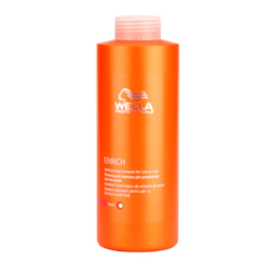 Wella Enrich Line - Питательный шампунь для увлажнения жестких волос, 1000 мл