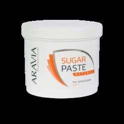 Aravia Professional - Сахарная паста для депиляции Натуральная мягкой консистенции, 750 г