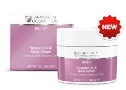 Janssen 7240 Vitaforce ACE Body Cream - Насыщенный крем для тела с витаминами A, C и E, 200 мл