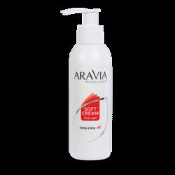 Aravia Professional - Сливки для восстановления рН кожи с маслом иланг-иланг (флакон с дозатором), 150 мл