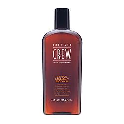 American Crew 24-Hour Deodorant Body Wash - Гель для душа дезодорирующий, 450 мл