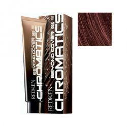 Redken Chromatics Beyond Cover - Краска для волос без аммиака Хроматикс 4.56/4Br красный/коричневый, 60 мл